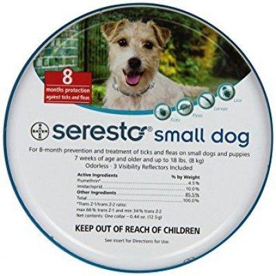 תמונה המציגה הדברה לכלבים נמצא בתוך עמוד ראשי של תפריט לכלבים