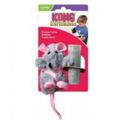 בובה לחתול בצורת עכברוש לחתול