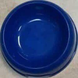 צלחת פלסטיק כחול לכלב ולחתול