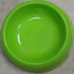 צלחת פלסטיק לכלב בצבע ירוק