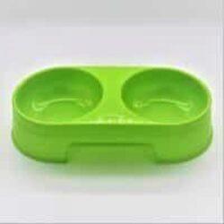 סט קערות לכלב קטן בצבע ירוק